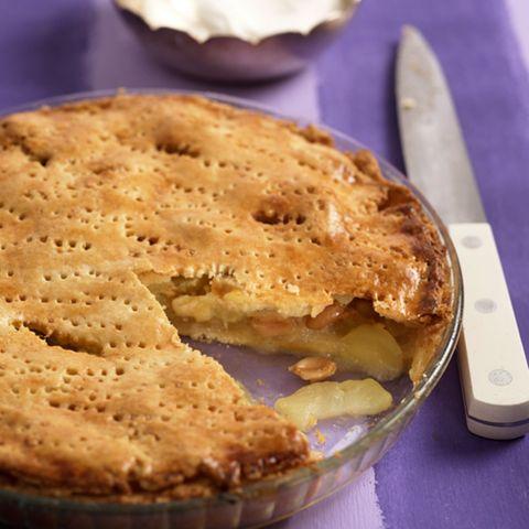 Apfel-Erdnuss-Pie