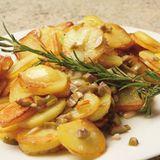 Bratkartoffeln aus rohen Kartoffeln