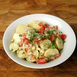 Kartoffelsalat mit Joghurtmayonnaise