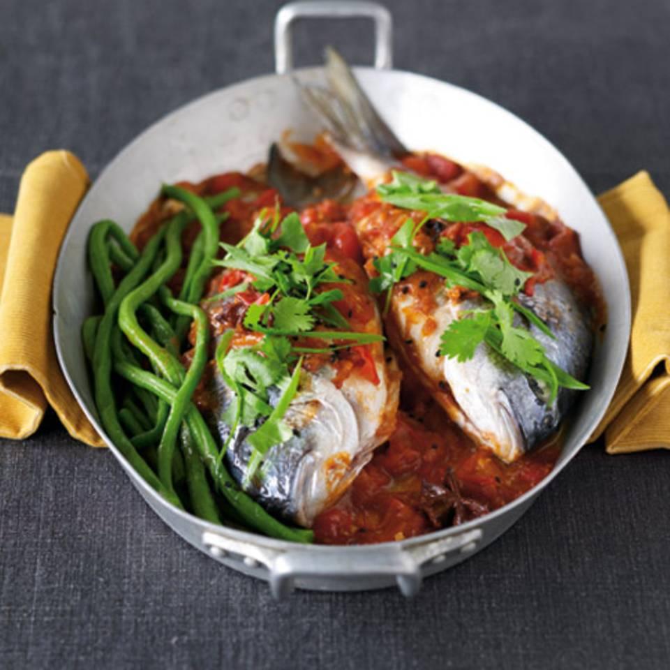 Spicy Fisch-Curry Rezept