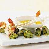 Koriander-Gnocchi mit Limetten-Ingwer-Butter