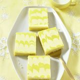 Zitronen-Schmand-Blechkuchen