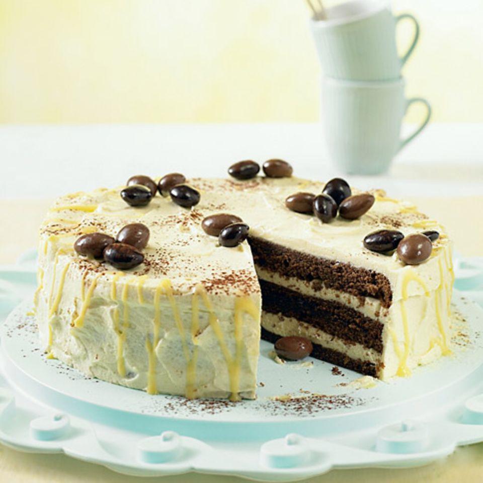 Schokoladen-Eierlikör-Torte
