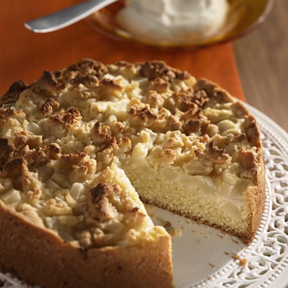 Marzipan-Birnen-Kuchen Rezept