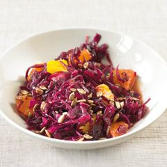 Rotkohl-Orangen-Salat
