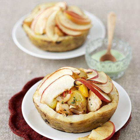 Gefüllte Sellerieknolle mit Kartoffel-Gröstl