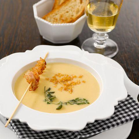 Steckrüben-Cremesuppe