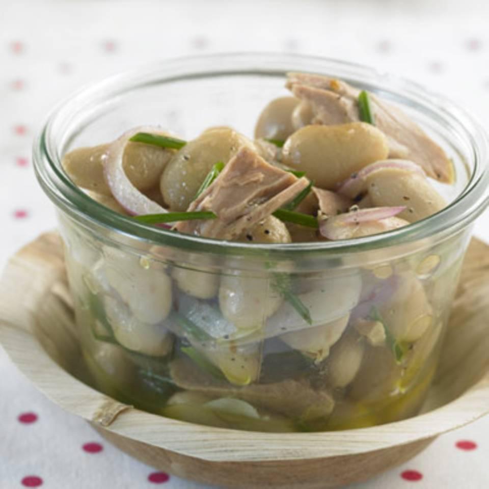 Bohnen-Thunfisch-Salat Rezept