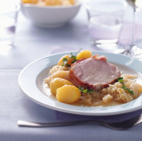 Kasseler mit Sauerkraut