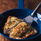 Fisch in Kräuterhülle