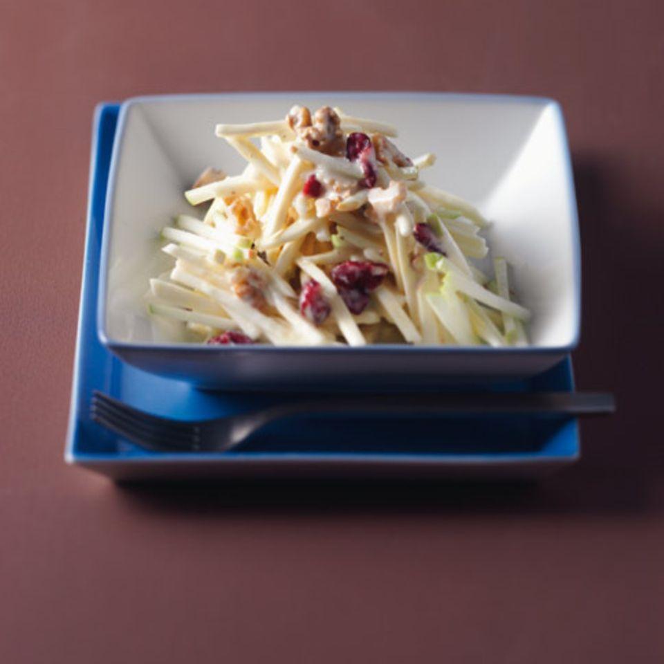Pastinaken-Apfel-Salat