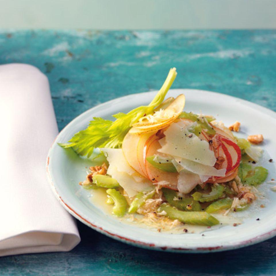 Sellerie-Birnen-Salat