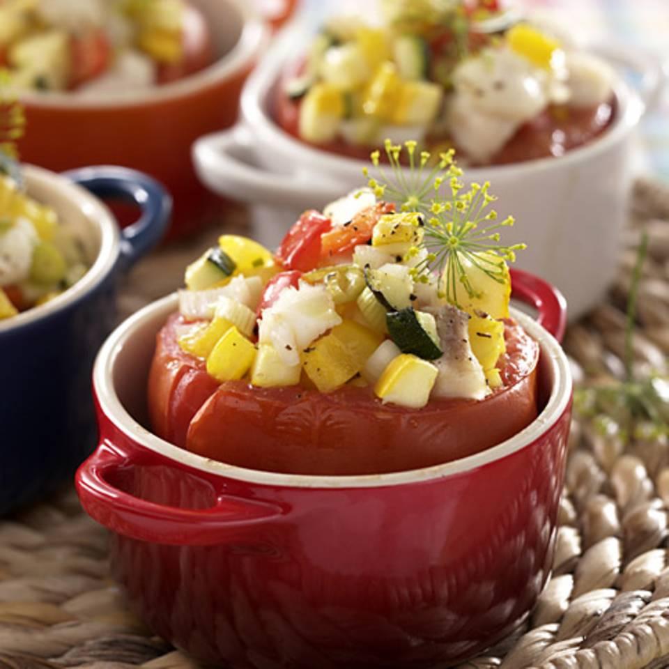 Fisch in der Tomate Rezept