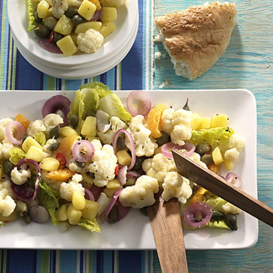 Blumenkohl-Kartoffel-Salat