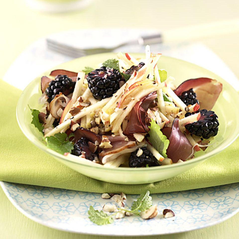Apfel-Schinken-Salat