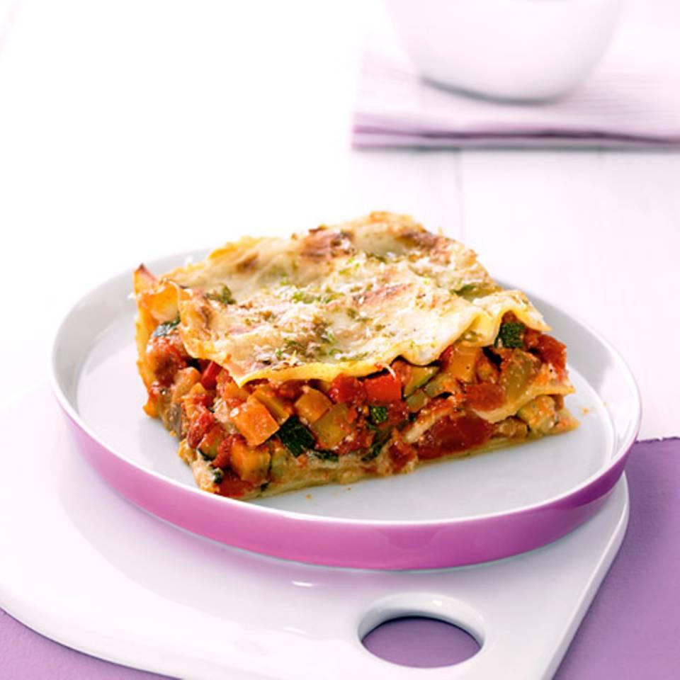 Ratatouille-Lasagne mit Selleriecreme Rezept