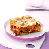 Ratatouille-Lasagne mit Selleriecreme