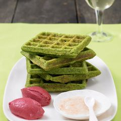Grüne Klemmkuchen