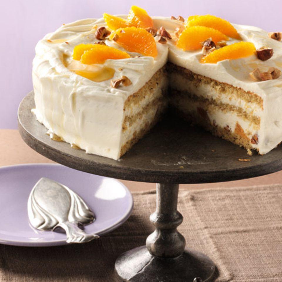 Joghurt-Orangen-Torte