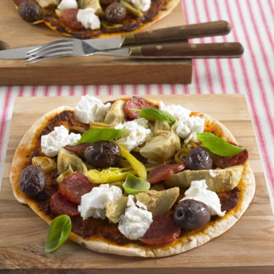 Tortilla-Pizza Rezept