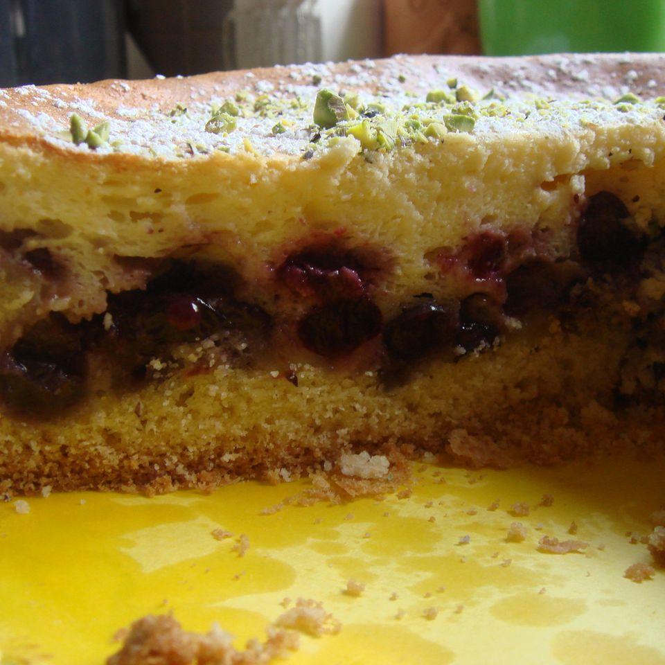 Blaubeer-Quark-Torte
