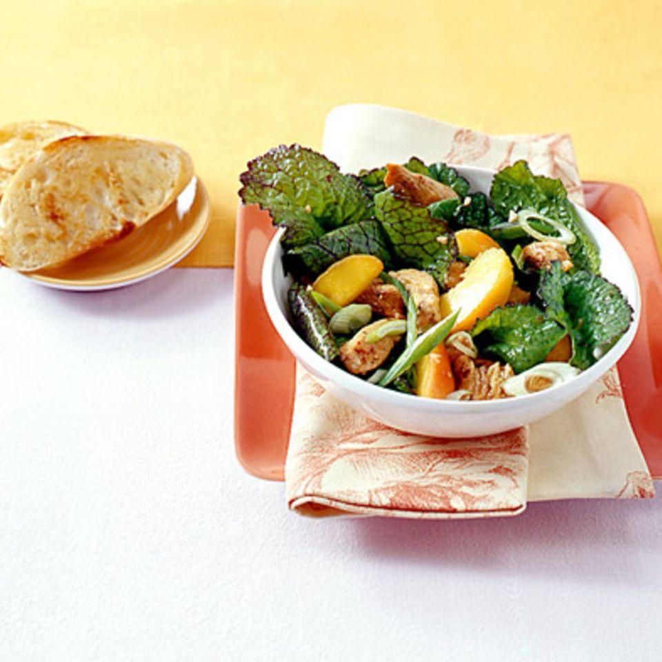 Geschnetzeltes mit Picanto-Salat