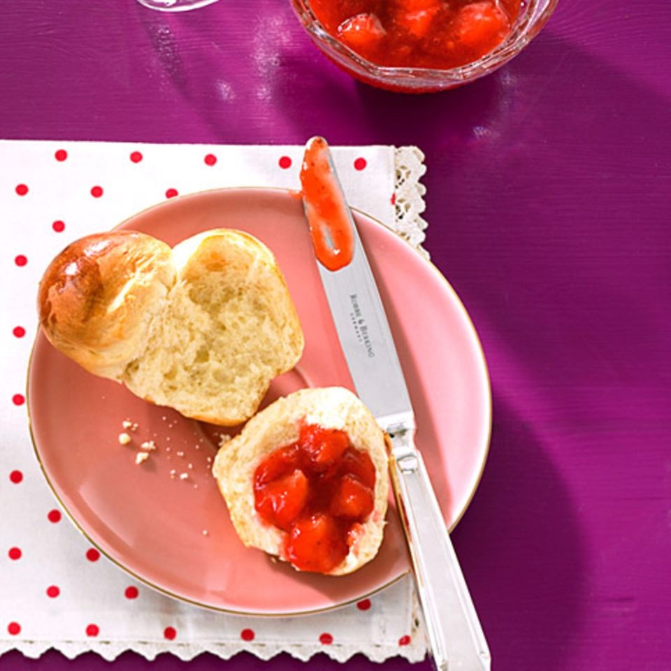 Erdbeer-Lavendel-Konfitüre