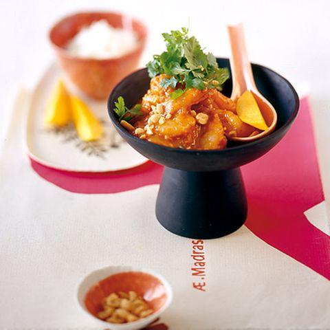 Tomaten-Garnelen-Curry