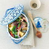 Asiatischer Matjes-Salat mit Ananas