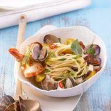 Spaghettini mit Meeresfrüchten