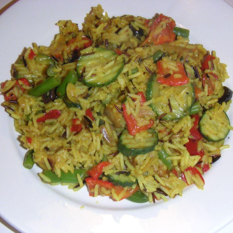 Gemüse Paella