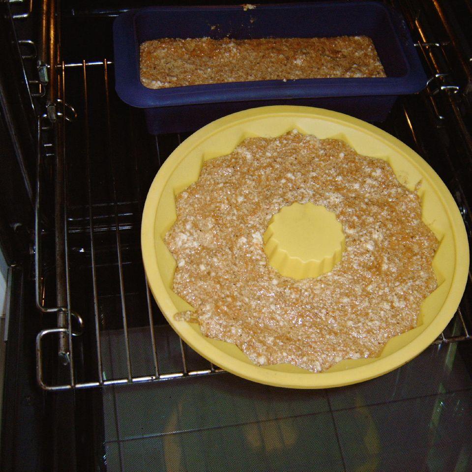 Möhrenkuchen, saftig und vollwertig