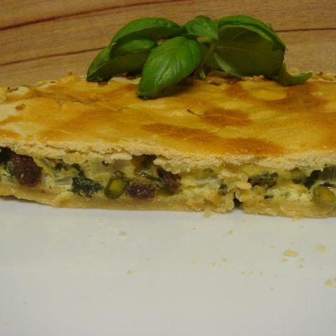 Vegetarischer Mangold Pie