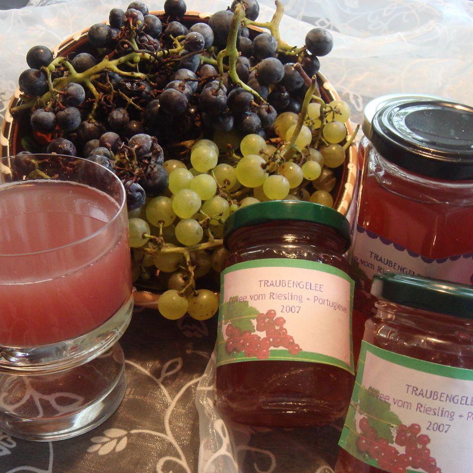 Traubengelee aus Riesling & Portugieser Trauben