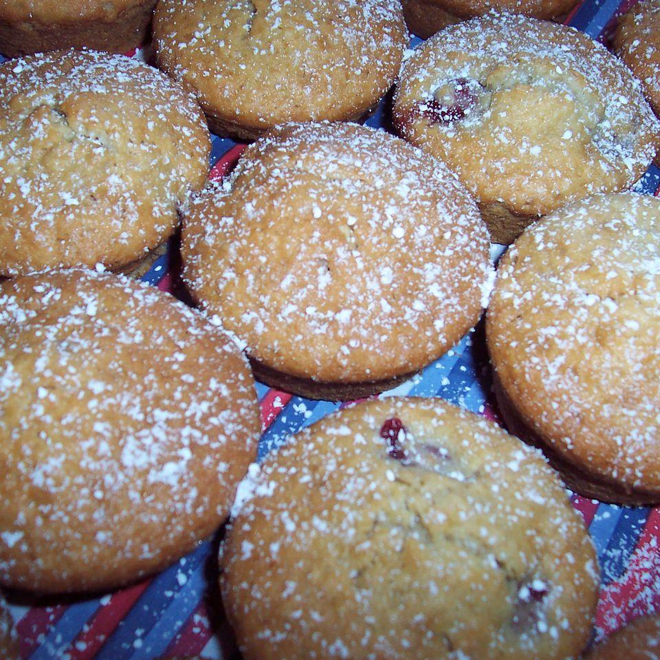 Kirsch-Haferflocken-Muffins