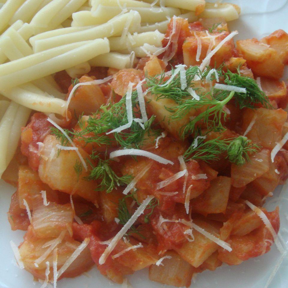 Fenchel-Tomaten-Pasta-Sauce à la Eury