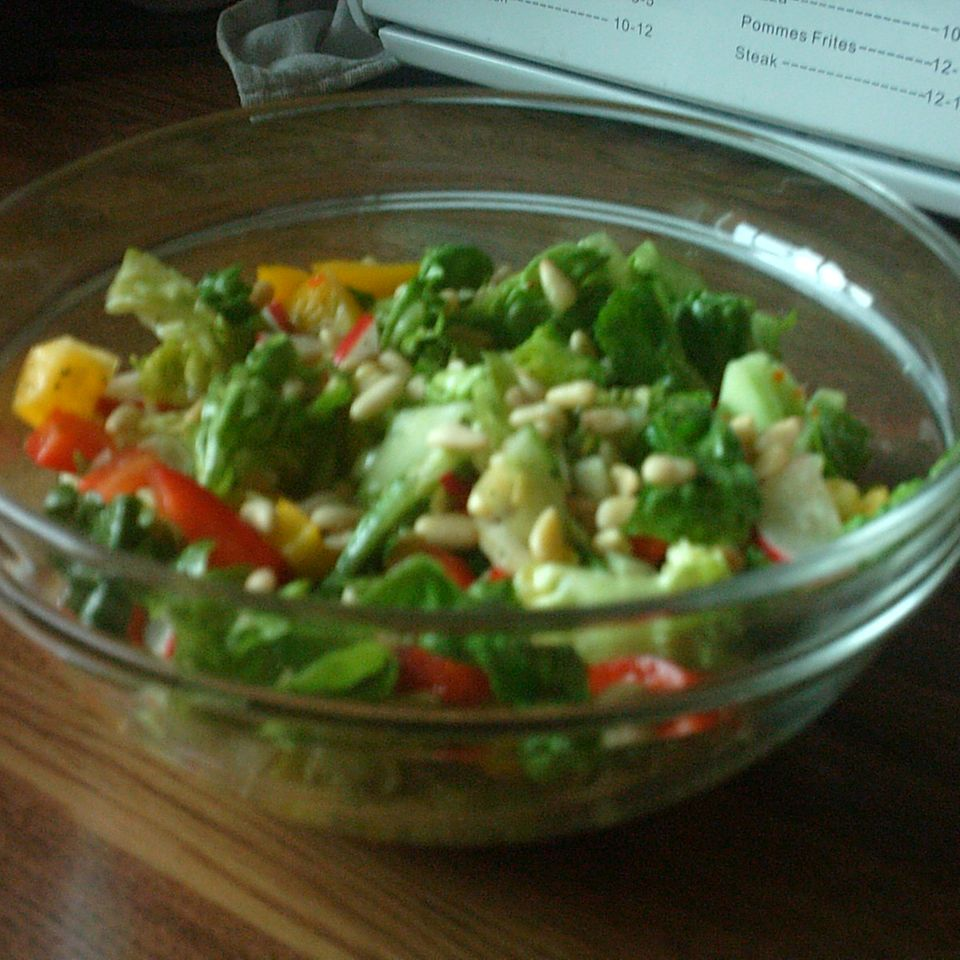 Bunt-gemischter Salat