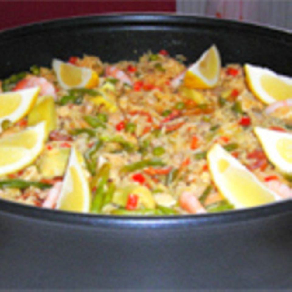 Paella sencilla (Einfache Paella)