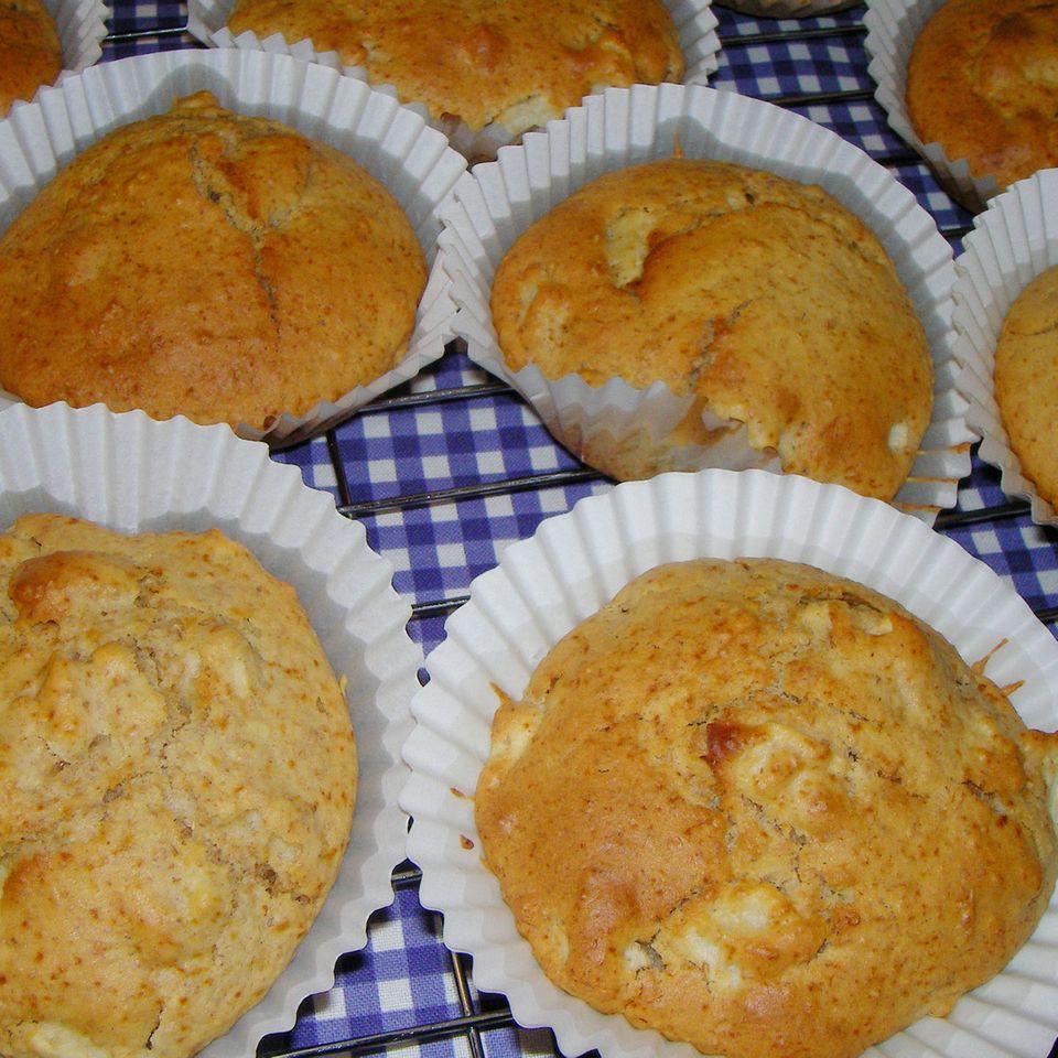 Apfel-Quitten-Muffins
