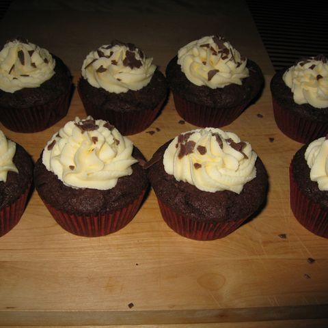 Schoko-Vanilla-Cupcakes