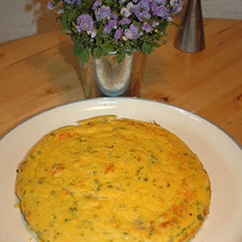 Polenta-Gemüse-Kuchen