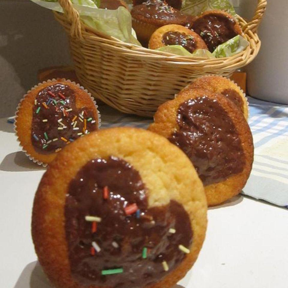 Muffins mit süßer Überraschung
