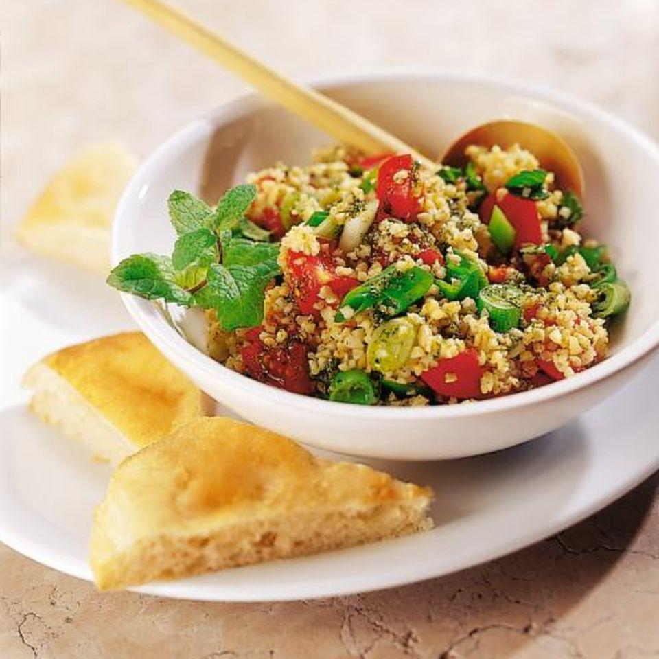 Arabischer Zwiebel-Bulgur-Salat