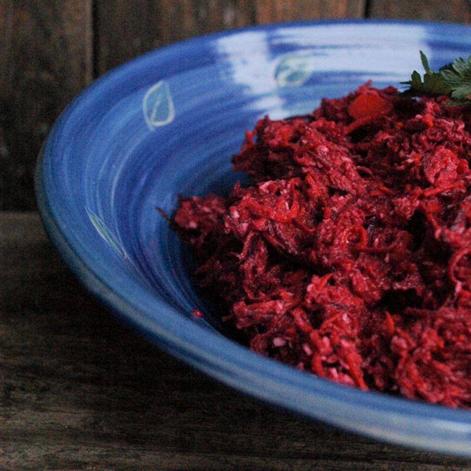 Rote Bete-Kürbis-Frischkost