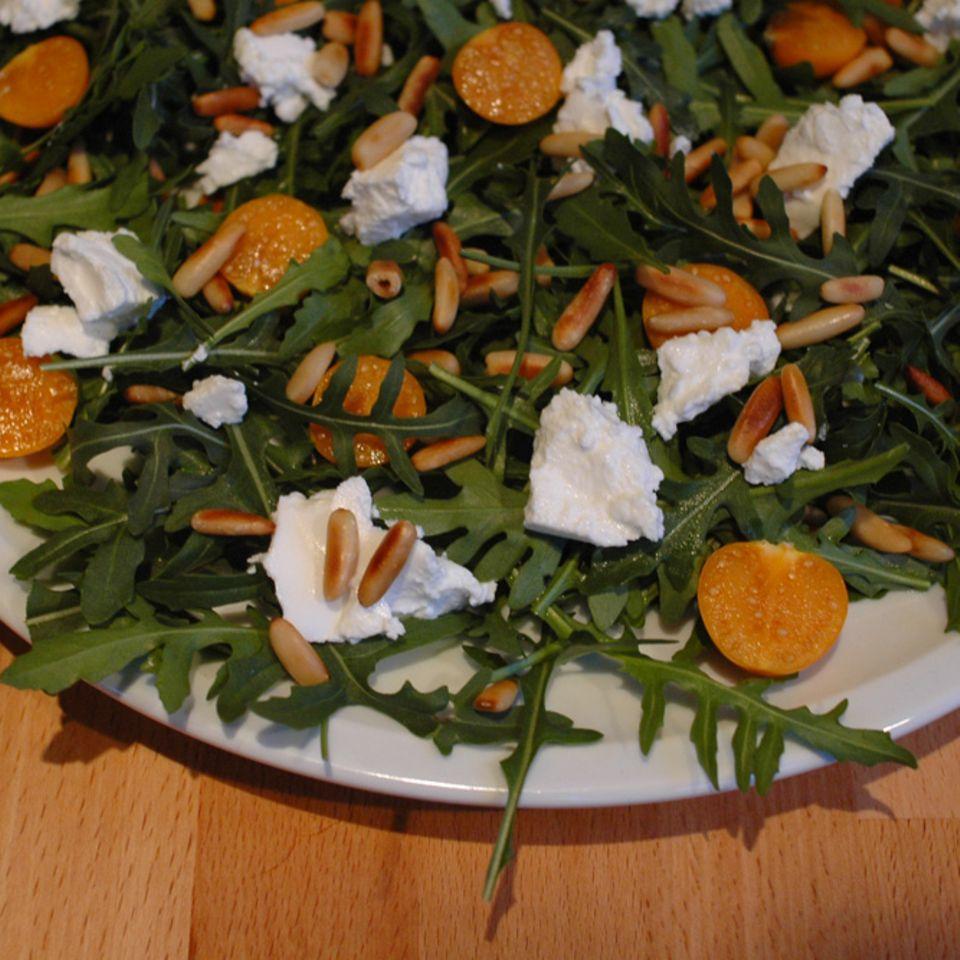 Rucola-Physalis-Salat