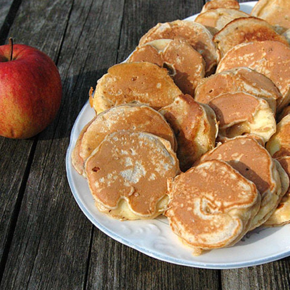 Apfelpfannküchlein