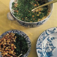 SOUPE A' L'AIL Knoblauchsuppe