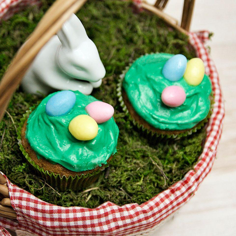 Möhrchen-Cupcakes
