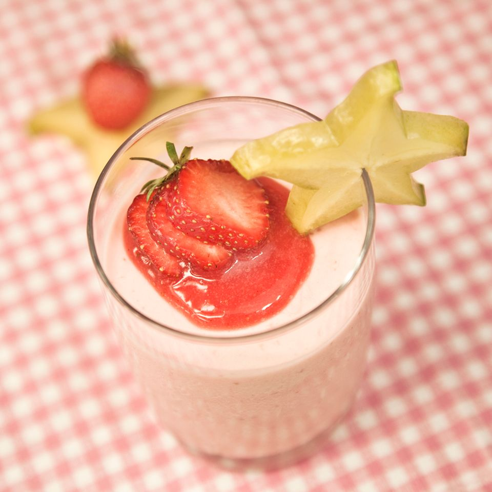 Erdbeermousse
