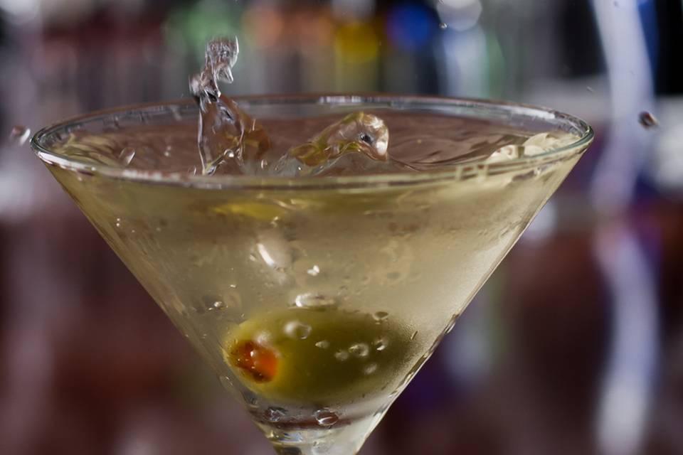 Dirty Martini Rezept